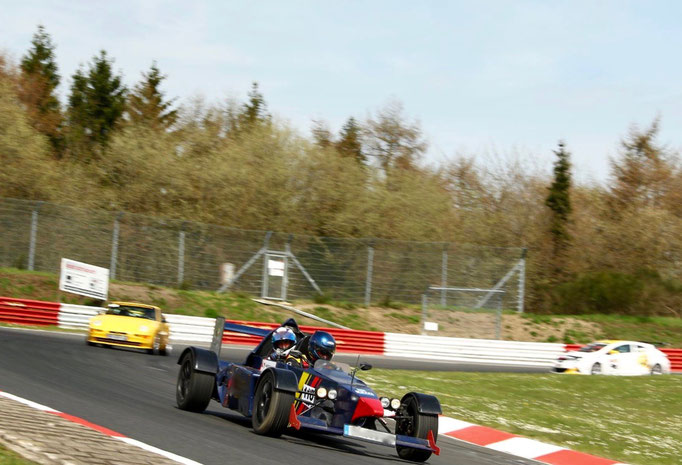 Formel Rennwagen fahren Nürburgring Nordschleife