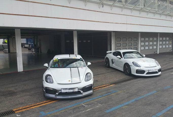 Porsche GT4 Renntaxi