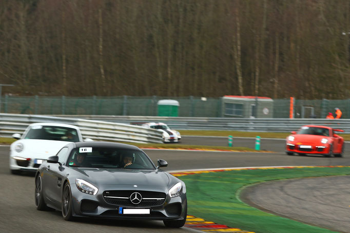 AMG Rennwagen selber fahren Spa Francorchamps