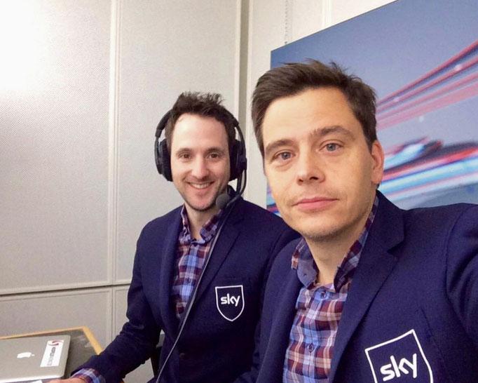 Formel E TV Experte Kommentaor und Moderator SKY Fernseh