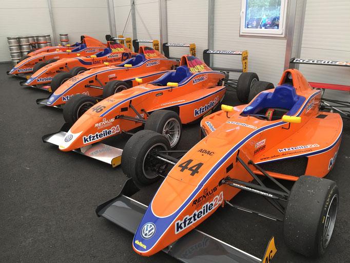 Formel Rennwagen fahren