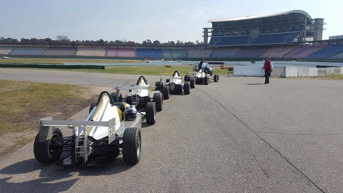 Formel selbst fahren Dijon Prenois in Frankreich, Zürich, Schweiz