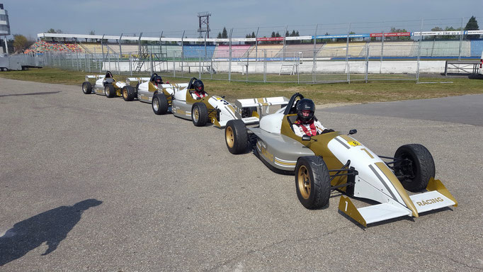 Formel selber fahren Event Sachsenring
