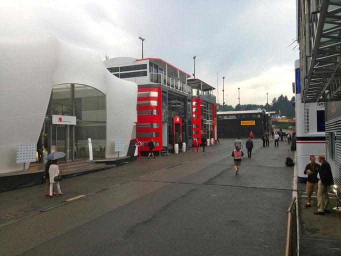 Formel 1 Fahrerlager Motorsport Events