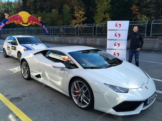 Lamborghini Rennwagen selber fahren Salzburgring Österreich