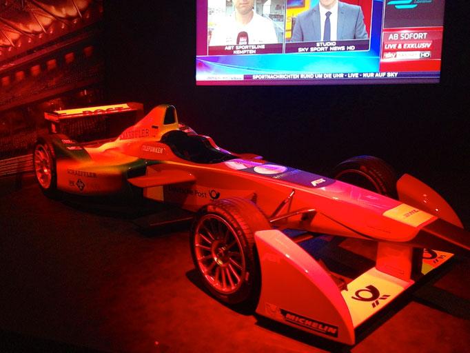 Formel E Auto mieten