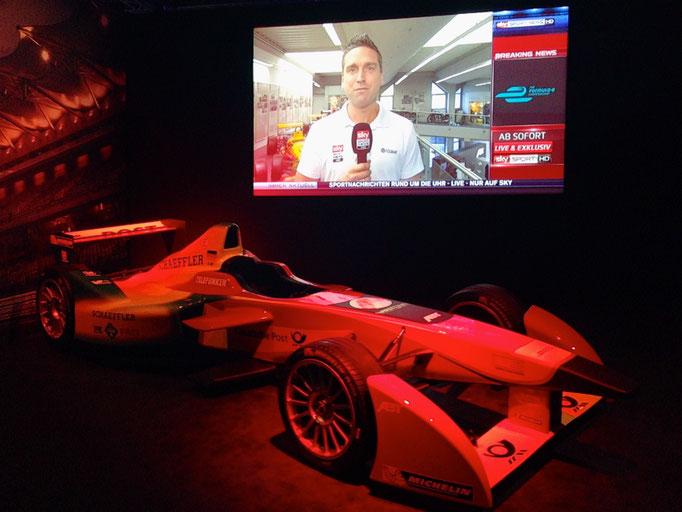 Formel E Showcar anmieten