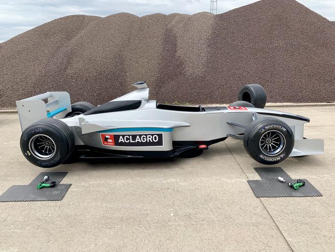 Formel E Reifenwechsel Simulator