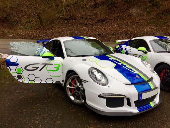 Porsche Rennwagen selber fahren Salzburgring 991