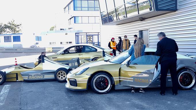 Rheinring Rennwagen Motorsport Event Porsche selber fahren