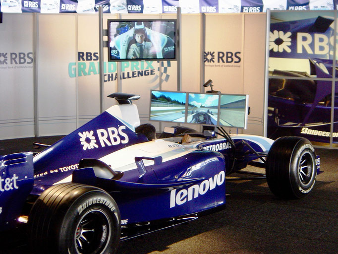 Huur Race Formule 1 Simulator