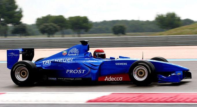 Formelwagen Rennwagen fahren Paul Ricard Rennstrecke