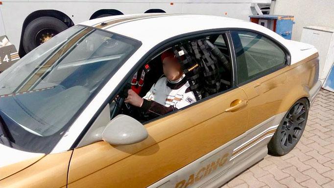 BMW Renntaxi Co Pilot