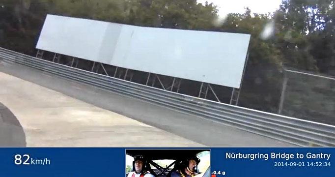 Renntaxi VLN Porsche Nordschleife