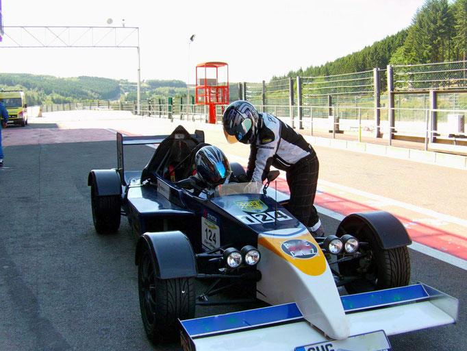F1 Renntaxi Spa