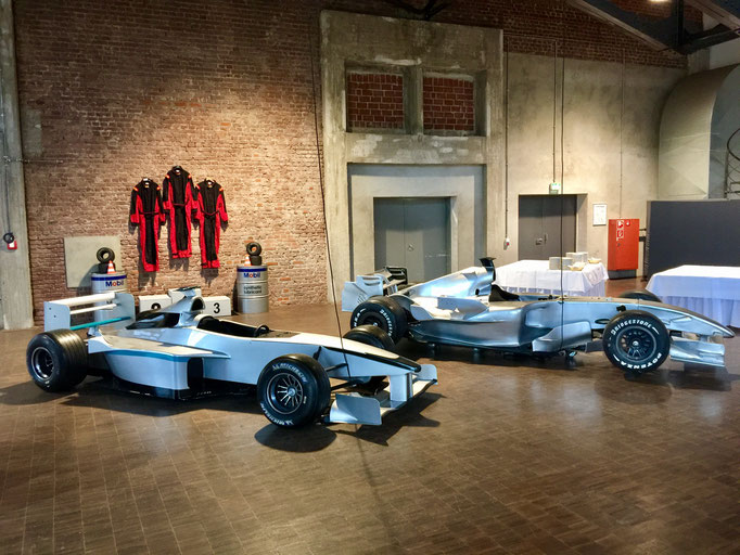 Formel 1 Replica mieten Werbung