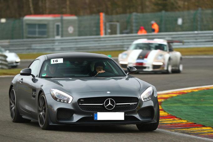 Hockenheimring Rennstrecke Renntaxi AMG