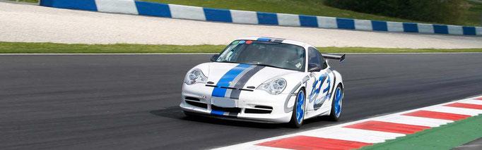 Porsche Rennwagen selber fahren Bilster Berg 996