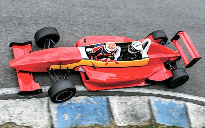 Formel Doppelsitzer Renntaxi Hockenheimring