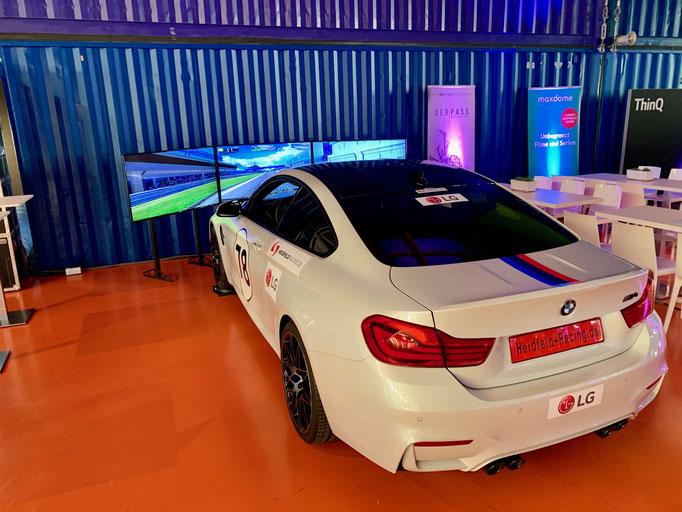 Simulator für Autohaus mieten