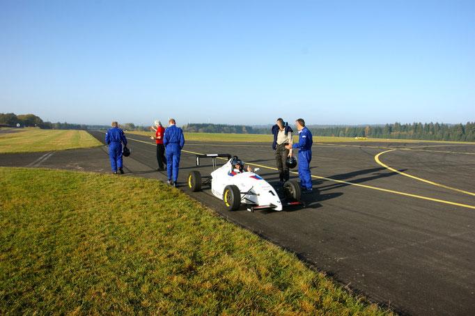 Formel wagen selbst fahren Rennstrecke