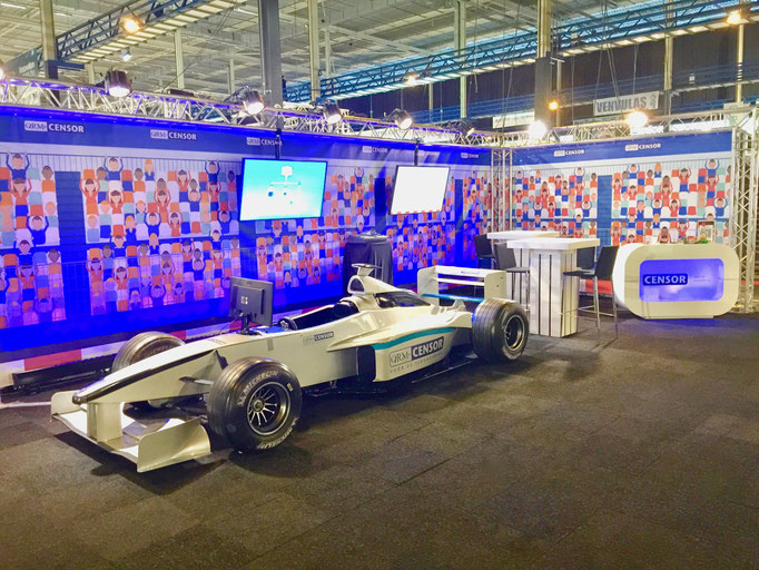 Formel 1 Rennwagen Simulator mieten