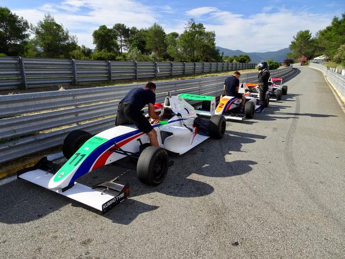 Formel 4 selber fahren