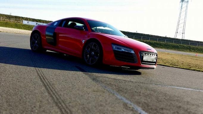 Audi R8 mieten Rennstrecke