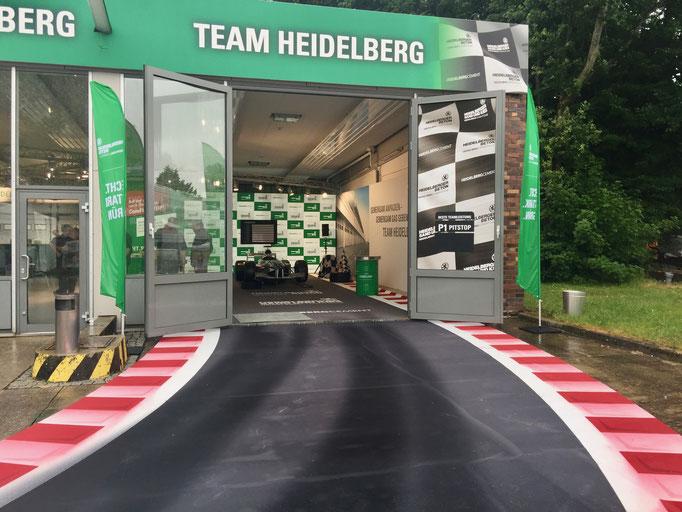 Formel 1 Dekoration Vermietung