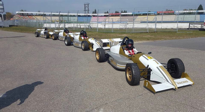 Formel Auto selbst fahren Hockenheimring