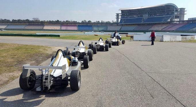 Formel Auto fahren Hockenheimring