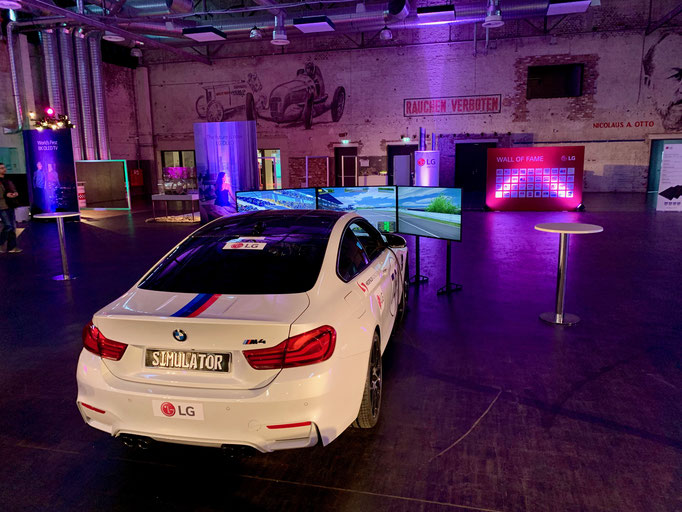 DTM Rennwagen Simulator mieten