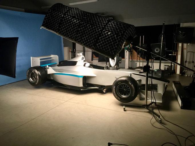 Formel 1 Showcar Auto mieten