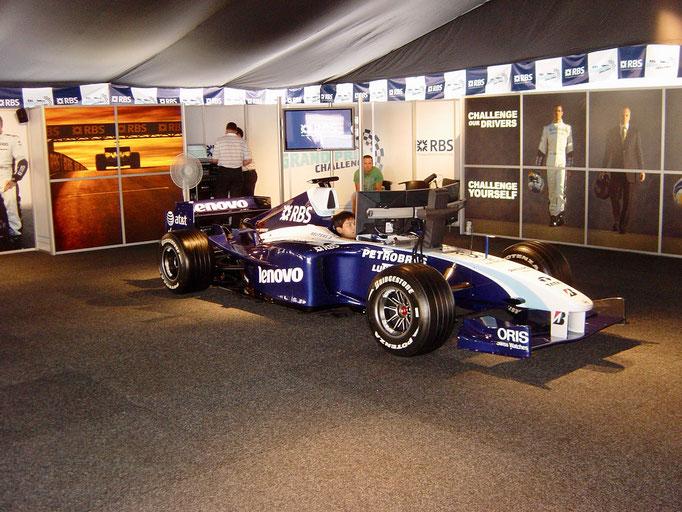 F1 Auto Simulator ausleihen