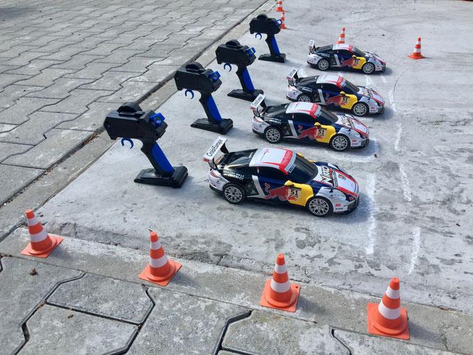 Ferngesteuerte Rennwagen Formel 1 RC Modelle mieten