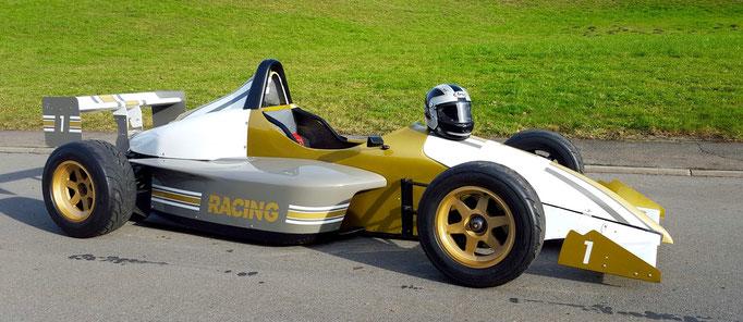 Formel Rennwagen selber fahren Frankreich