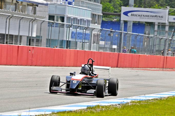 Formel Renntaxi Hockenheimring