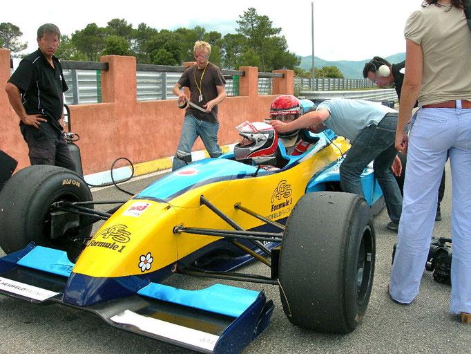 Le Luc Sportwagen Formel wagen mitfahren Co Pilot