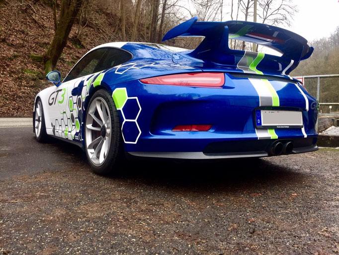 Porsche Rennwagen selber fahren Bilster Berg 991