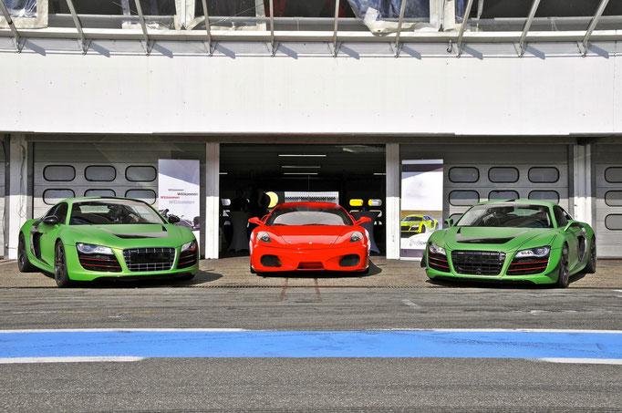 Renntaxi Bilster Berg Rennstrecke Formel 1 Rennwagen