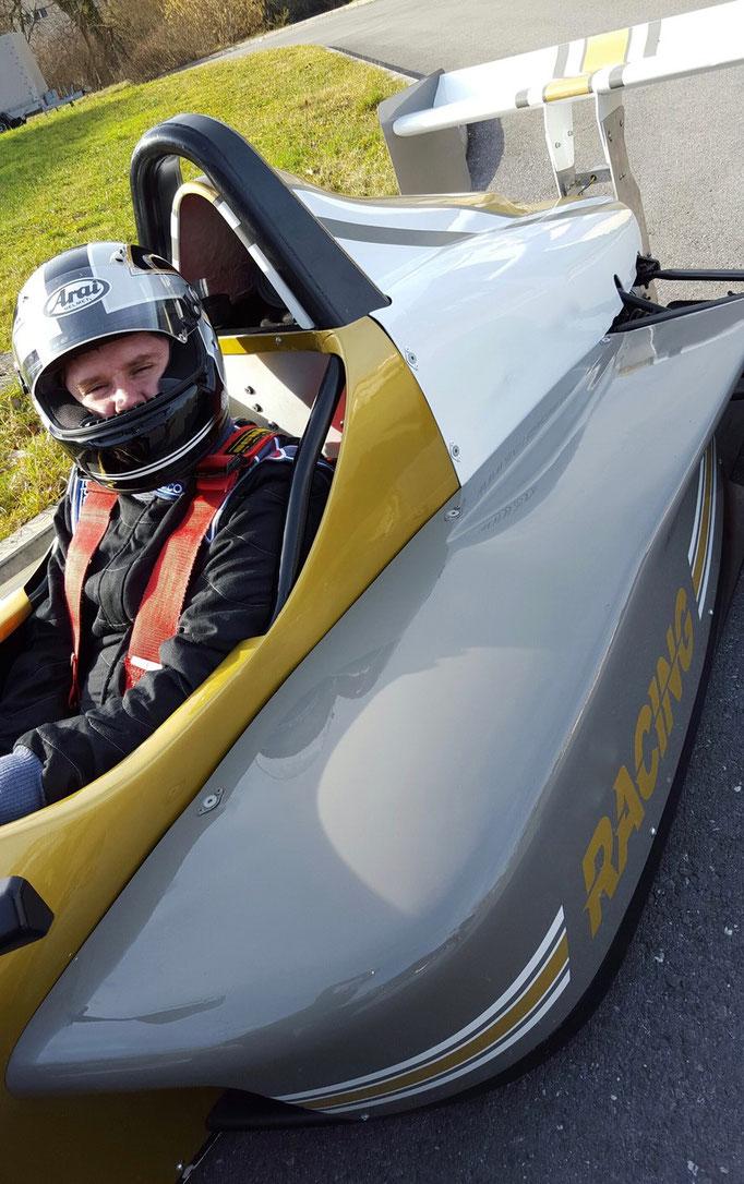 Formel selber fahren nahe der Schweiz