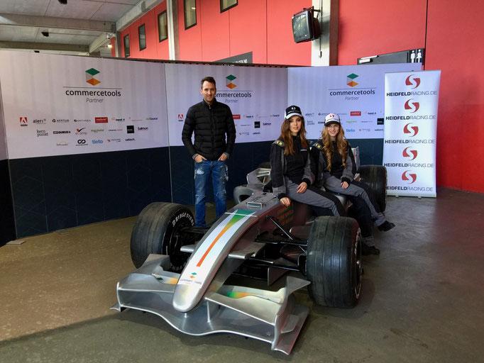 Formel 1 Rennwagen Reifenwechsel Simulator mieten