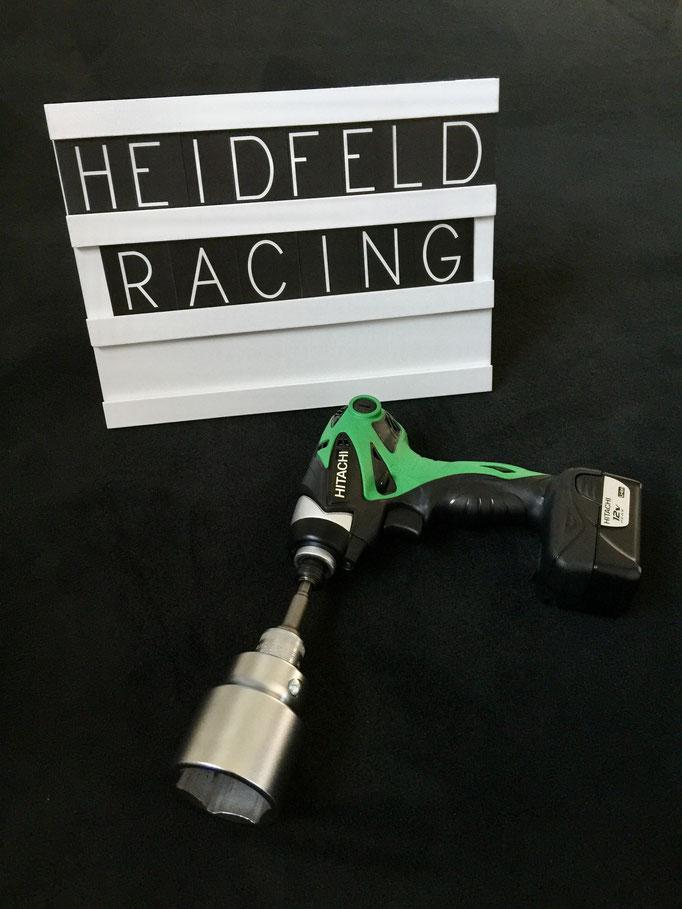 Formel 1 Akku Reifenwechsel Schlagschrauber Simulator