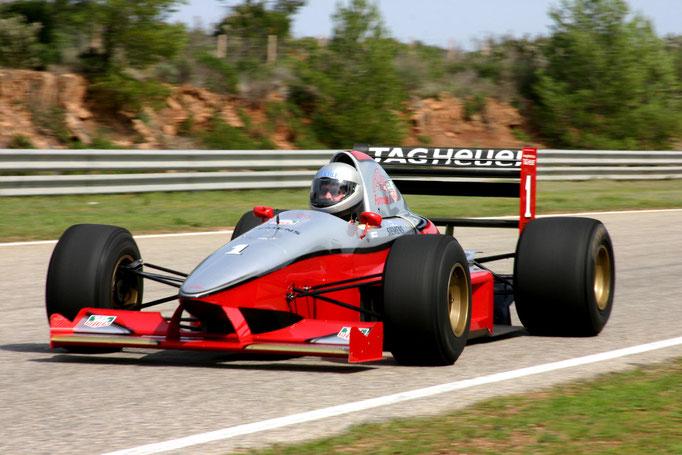 Formel 1 AGS selber fahren