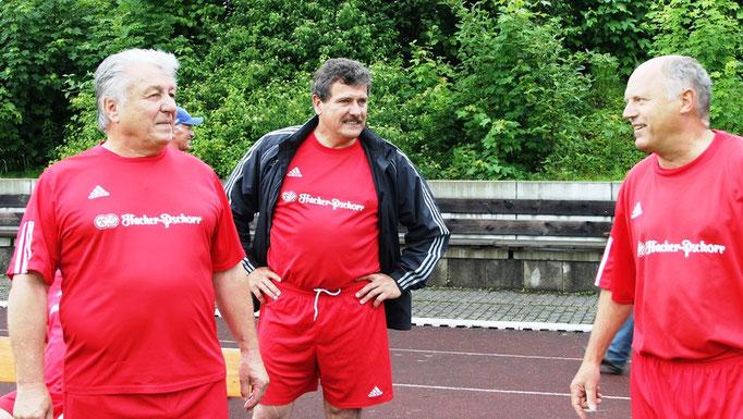 Albert Stürzer, Andreas Hallmannsecker, Helmut Mairinger