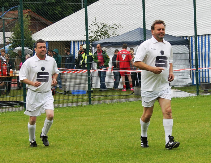 Uwe Köck und Werner Schäffler
