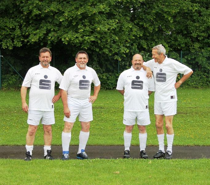 Werner Schäffler, Heinz Vogt, Manfred Kirchberger und Dieter Hauptmann