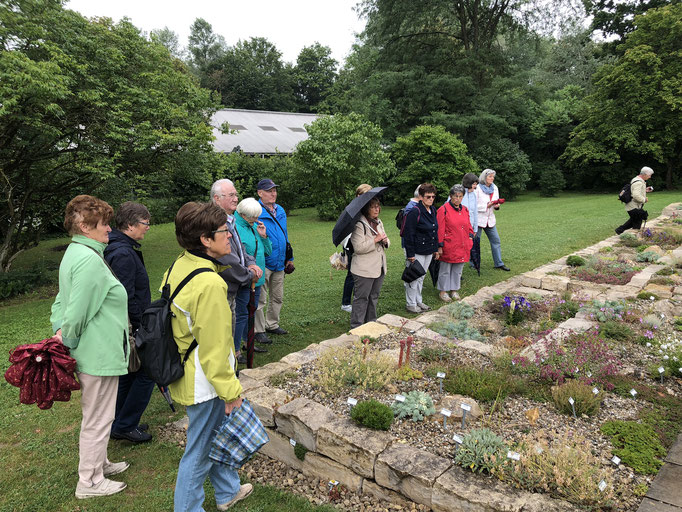 Vereinsfahrt 2019 zu den Weihenstephaner Gärten