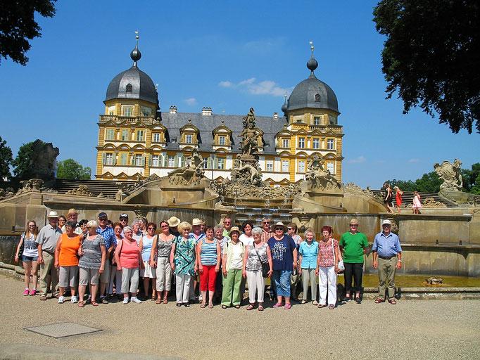 Vereinsfahrt 2014 nach Bamberg und zum Schloss Seehof