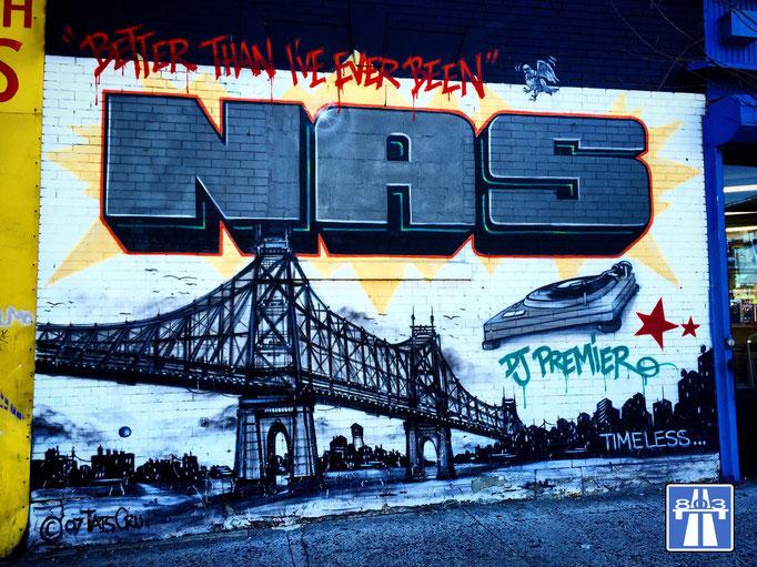 Bronx, Nas, DJ Premier